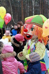 Ростовые куклы на Масленицу