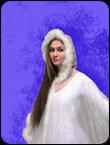 Снежинка белая