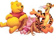 Винни-Пух и Тигра идут в гости