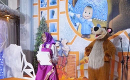 Новогодние приключения Маши в Евроцементе
